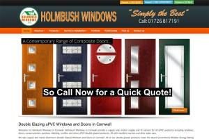 Holmbush Windows in Cornwall