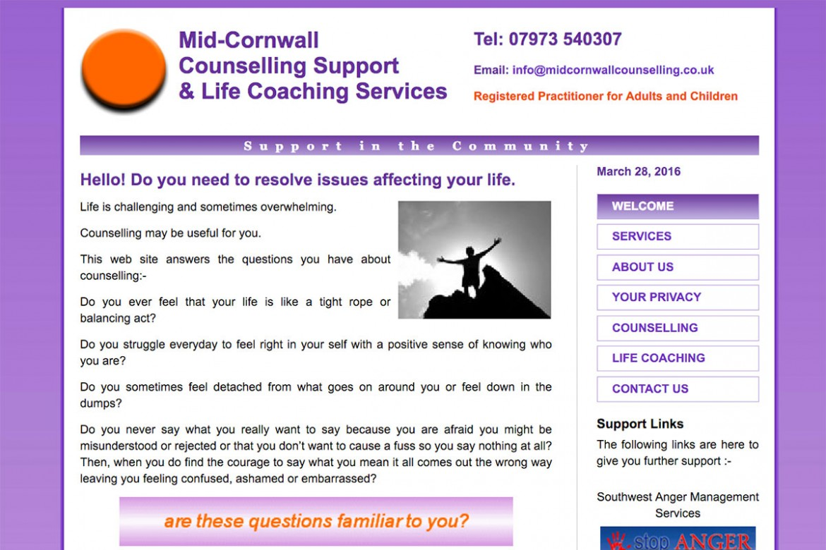 mid cornwall counselling