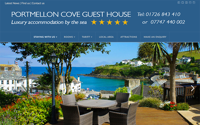 Portmellon Cove Guest House Cornwall