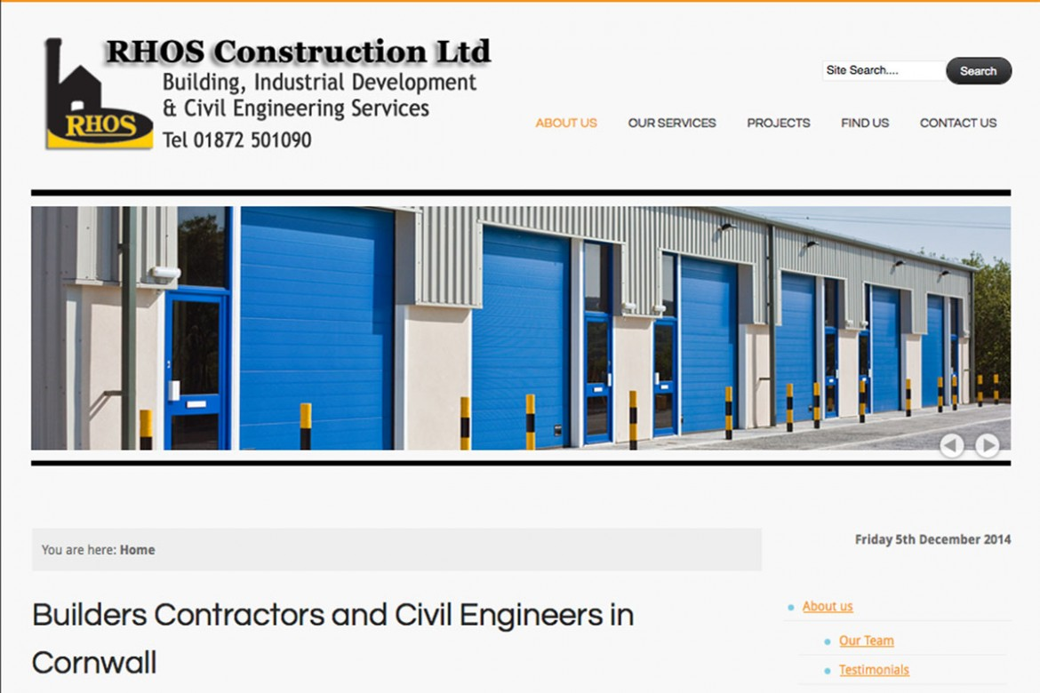 Civil Engineering in Cornwall